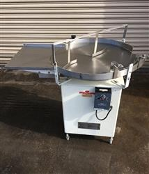 "286534 - 30"" Stainless Rotary Accumulation / Feed Table"