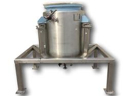 286722 - 190 Gallon Sanitary Batch Weigh Jacketed Tank - Stainless Steel