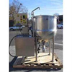 287203 - 100 Gallon CLEVELAND HA-MKDL100CC Steam Kettle - Cook, Chill, Horizontal Agitation, NSF UL Approved