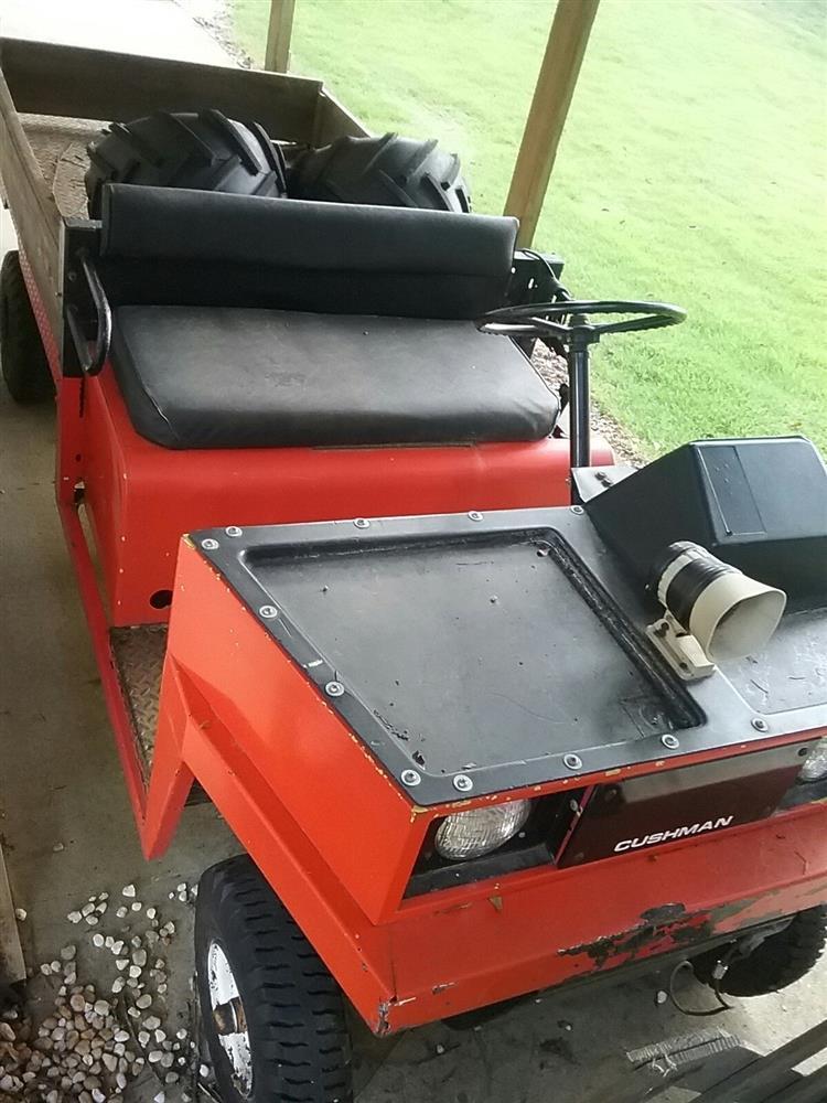 CUSHMAN 4-Wheel Truckster - 287213 For Sale Used