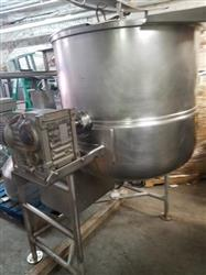 287346 - 100 Gallon CLEVELAND Steam Kettle - Gas Fired