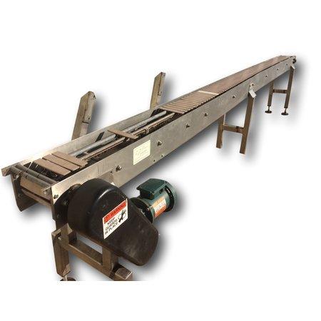 Image CONVEYORS PLUS, INC. Belt Conveyor - 6in Wide X 15ft Long 887382