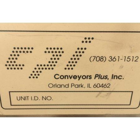 Image CONVEYORS PLUS, INC. Belt Conveyor - 6in Wide X 15ft Long 887385