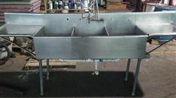 289316 - 3 Bay Stainless Steel Sink