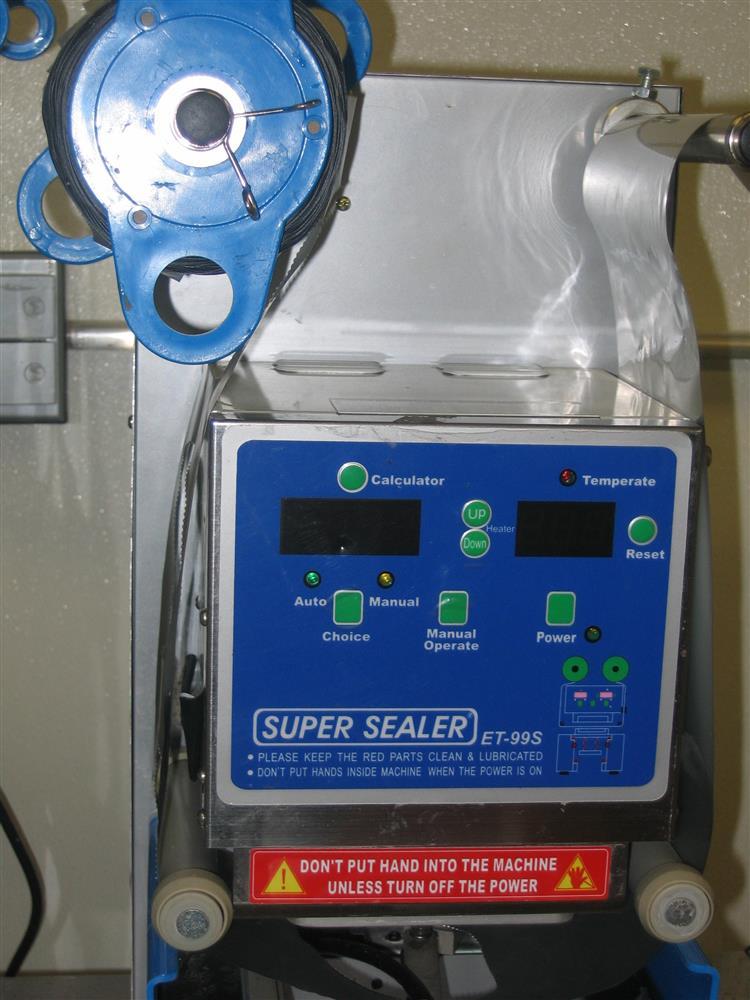 Image SUPER SEALER ET 99 S Semi Automatic Cup Sealer  890485