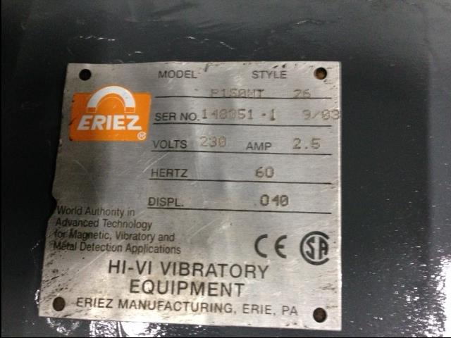 Image ERIEZ Hi-Vi Bin Vibrators 893212