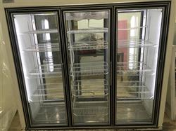 291015 - 3 Door Pass-Thru Refrigerator