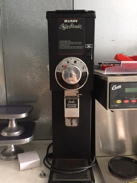 Bunn Commercial Coffee Grinder ~ Bunn g bulk coffee grinder for sale used