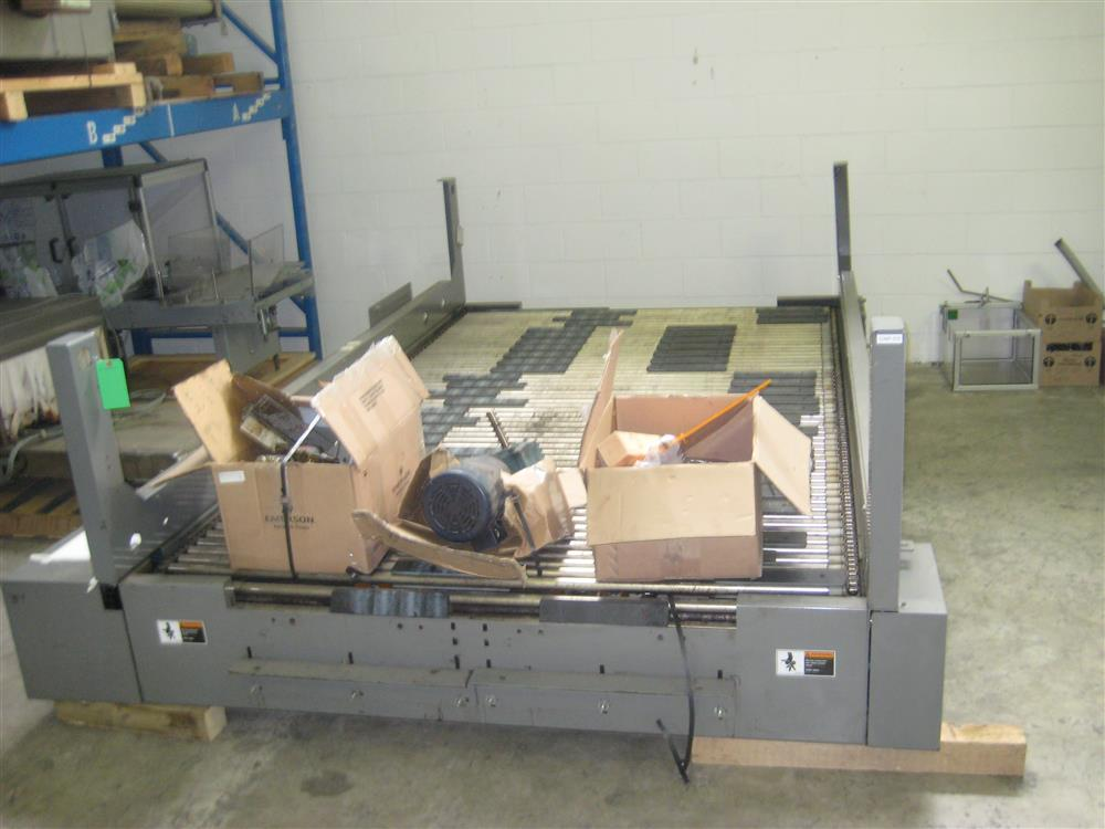 Image FKI LOGISTEX Case Rotating Conveyor - High Speed, Alvey Case Switch 898441