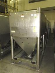 291588 - 60 Cu.Ft. GALLAY SYSTEMS LTD. Totes - Stainless Steel