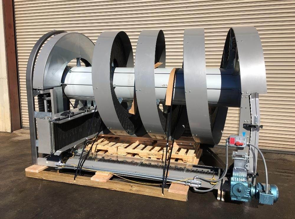 RYSON 1300-400-D3 Spiral Conveyor