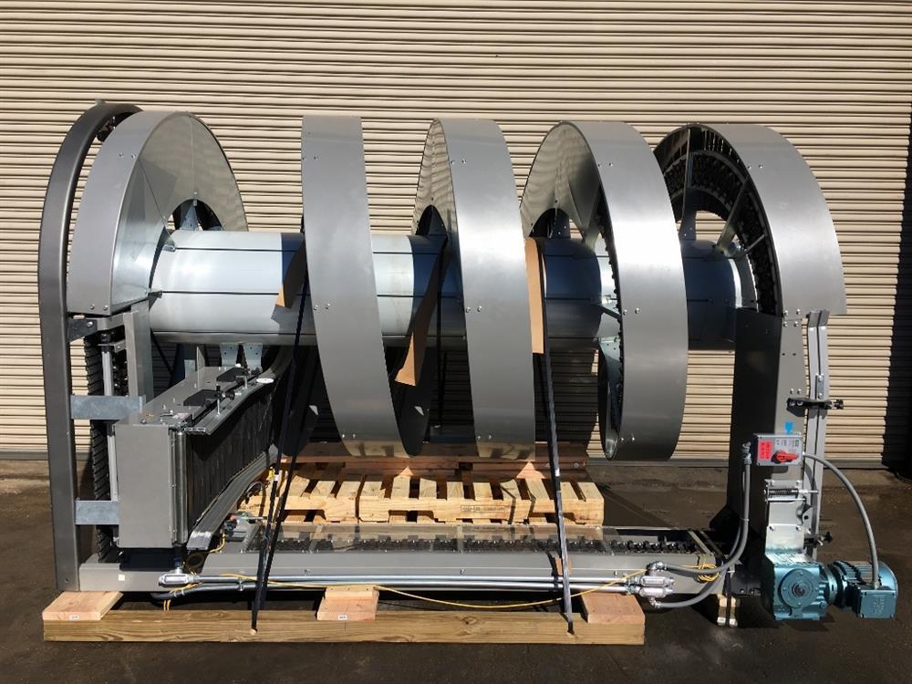 Image RYSON 1300-400-D3 Spiral Conveyor 901040