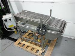 292295 - Enrobing Coating Cooling Conveyor - Heated Basin Hopper
