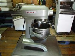 292311 - 12 Qt. HOBART A 120 Mixer with Stainless Steel Bowl, Hook, Paddle