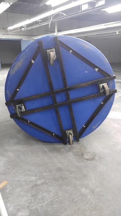 Image 660 Gallon Blue Plastic Tanks 1071483
