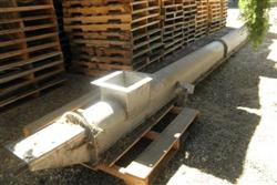 293448 - 10in X 25ft L Screw Conveyor - Stainless Steel
