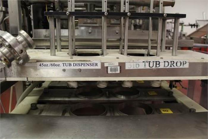 Image FILL-TECH Tub Filler and Tamper Evident Overcapper 908582