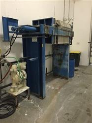 293472 - MET-CHEM Plate and Frame Filter Press