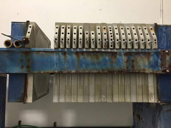 Image MET-CHEM Plate and Frame Filter Press 908635