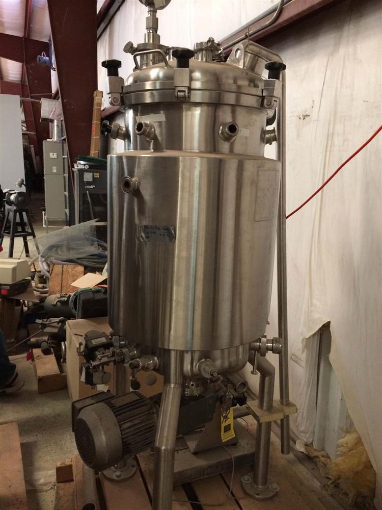bioreactor 100 liter 294323 for sale used. Black Bedroom Furniture Sets. Home Design Ideas