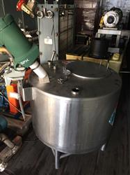 294909 - 100 Gallon Mixing Tank - Stainless Steel