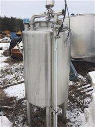 296093 - 100 Gallon REC INDUSTRIES Beer Buffer Tank - Stainless Steel