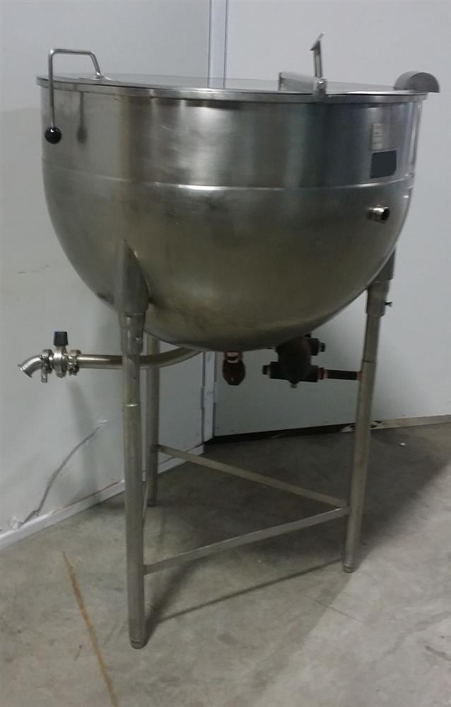 Image 60 Gallon ESCAN METAL Kettle - Model 60L, Steam, Jacketed 920970