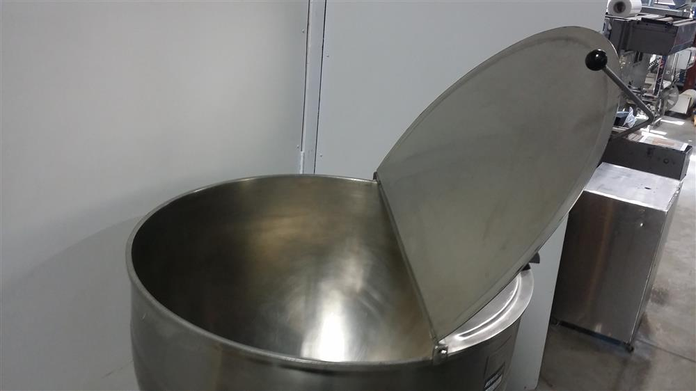 Image 60 Gallon ESCAN METAL Kettle - Model 60L, Steam, Jacketed 920948