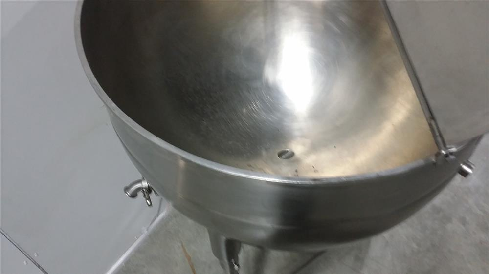 Image 60 Gallon ESCAN METAL Kettle - Model 60L, Steam, Jacketed 920949