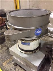 296184 - 30in SWECO Single Deck Sifter - Stainless Steel, Model ZS30S66