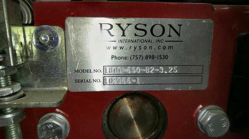 Image RYSON Spiral Conveor 925378