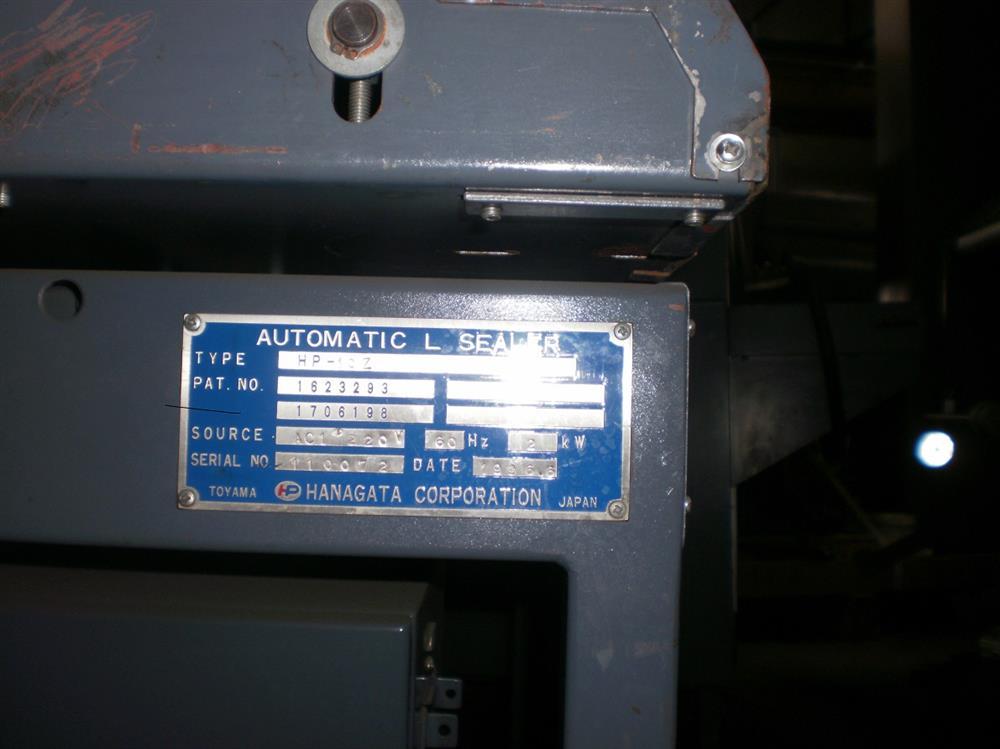 Image HANAGATA HP-10Z Automatic L-Bar Sealer 926242