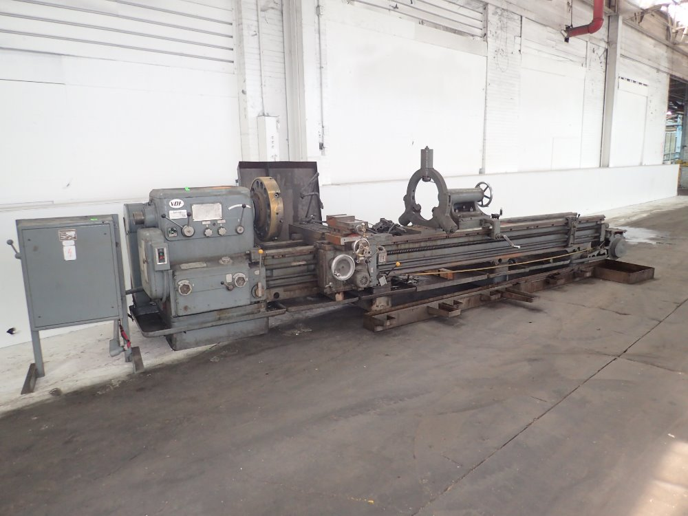 Vdf Machining Pictures : Vdf lathe for sale used