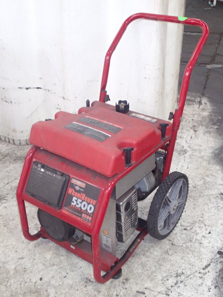 GENERAC Portable Gas Po - 298321 For Sale Used N/A