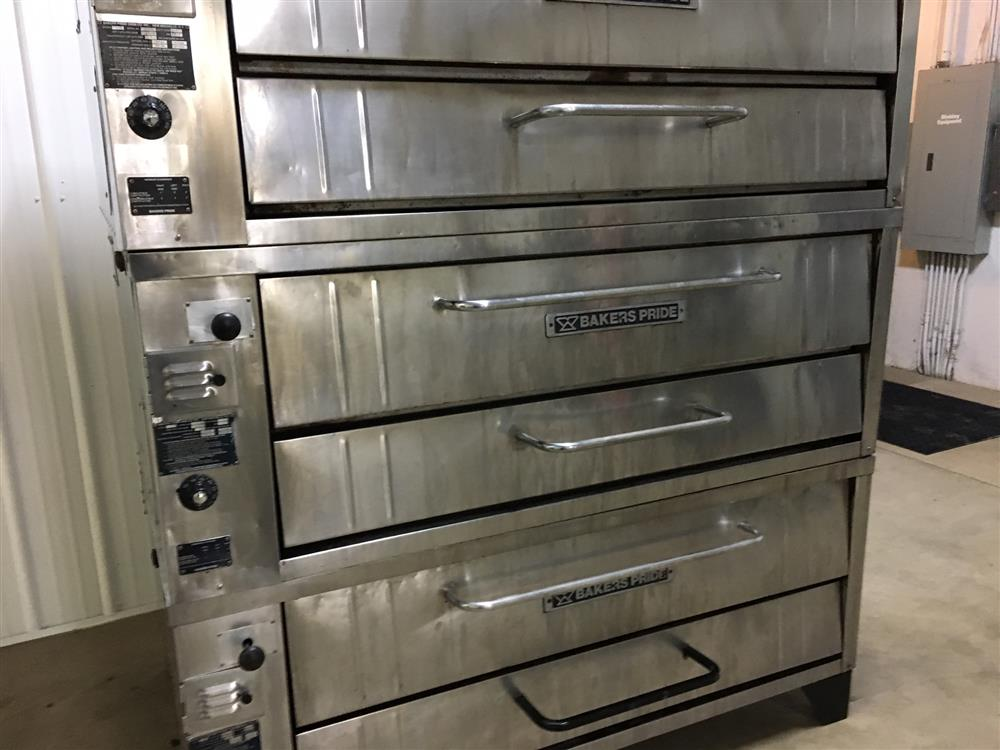 Bakers Pride 451 Stone Deck 298752 For Sale Used