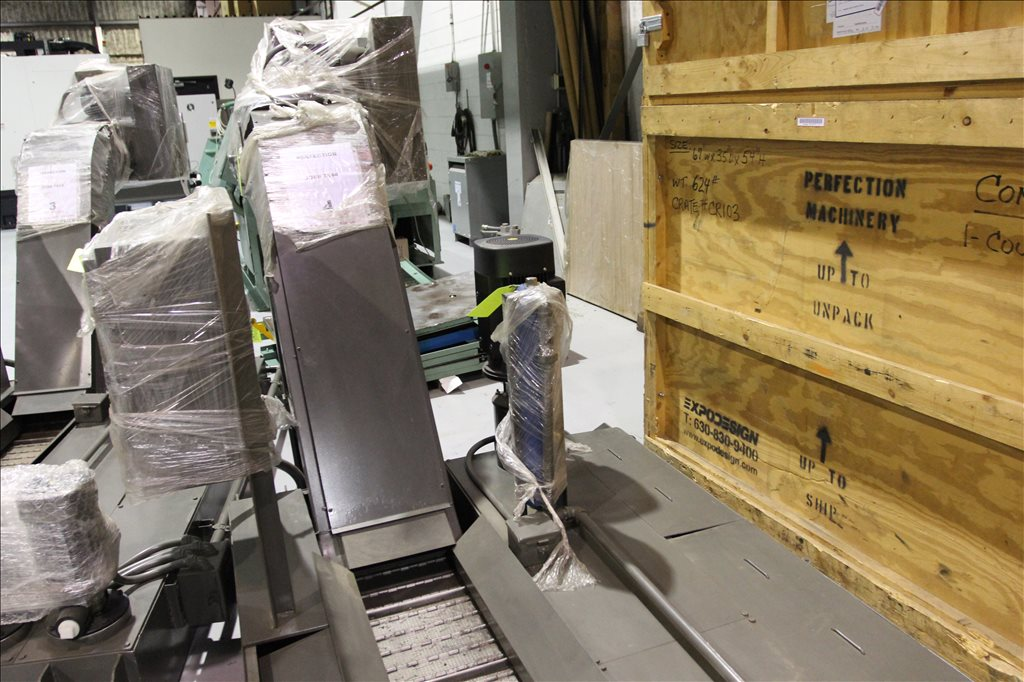 Turbo Hb Chip Conveyor With 299035 For Sale Used