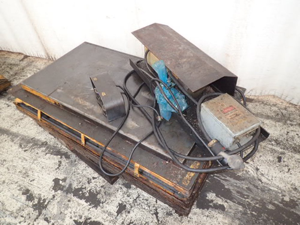Used Hydraulic Lift Tables : Hydraulic lift table for sale used n a