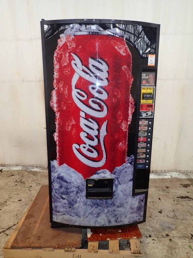 coke machine how to change price