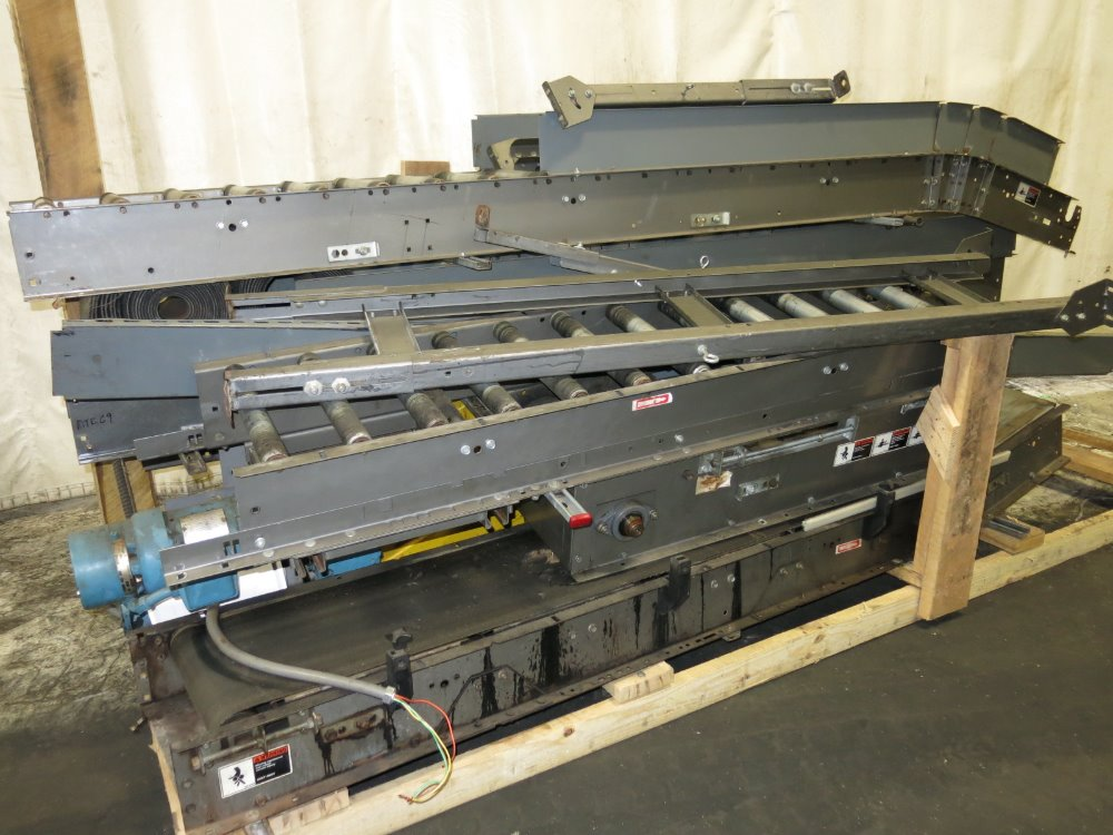 Power belt conveyors 300057 for sale used Motorized conveyor belt