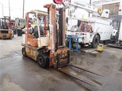 300228 - 1993 NISSAN Forklift - Model KAPH02A25V, 3,175 Lbs. Capacity with Rotator