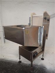 300830 - NEW ENGLAND H/E-15 Hopper Conveyor - Stainless Steel