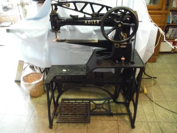 ADLER Long Arm 4040 Black L 404034040 For Sale Used Mesmerizing Pedal Sewing Machine For Sale