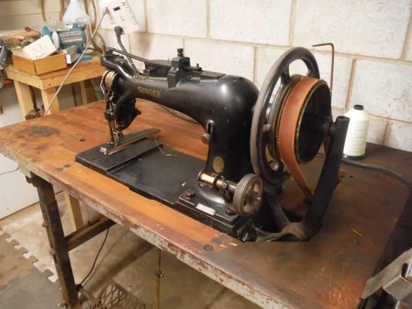 SINGER 4040 Harness Leather 3013440 For Sale Used Custom Harness Leather Sewing Machine