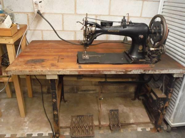 Buy Used Leather Sewing Machine