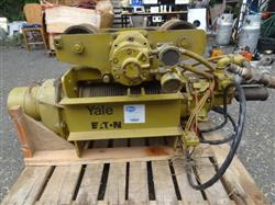 301844 - 3 Ton YALE DAW3 Cable Rope Air Powered Hoist - Explosion Proof Spark Resistant
