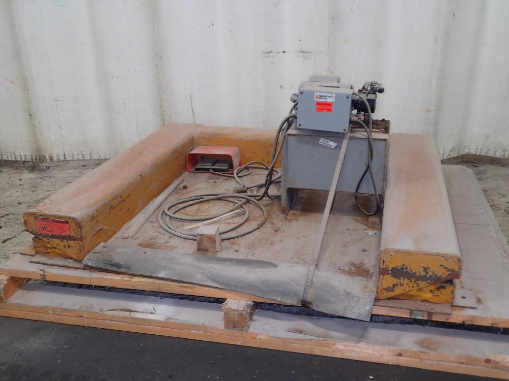 Industrial Material Handling Lifting Equipment : Ecoa hydraulic lift for sale used
