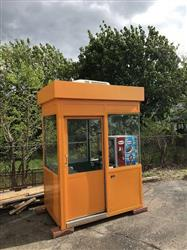 303127 - PORTA-KING Professionally Build Kiosk Equipped for Sno Kone Shaved Ice Business