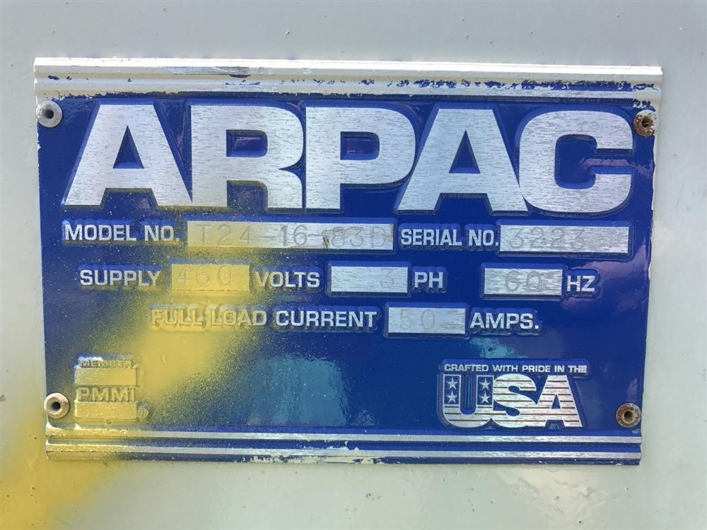 Image ARPAC Dual Chamber Shrink Tunnel 961431