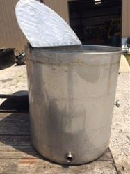305468 - 150 Gallon CES Water Jacket Melting Tank