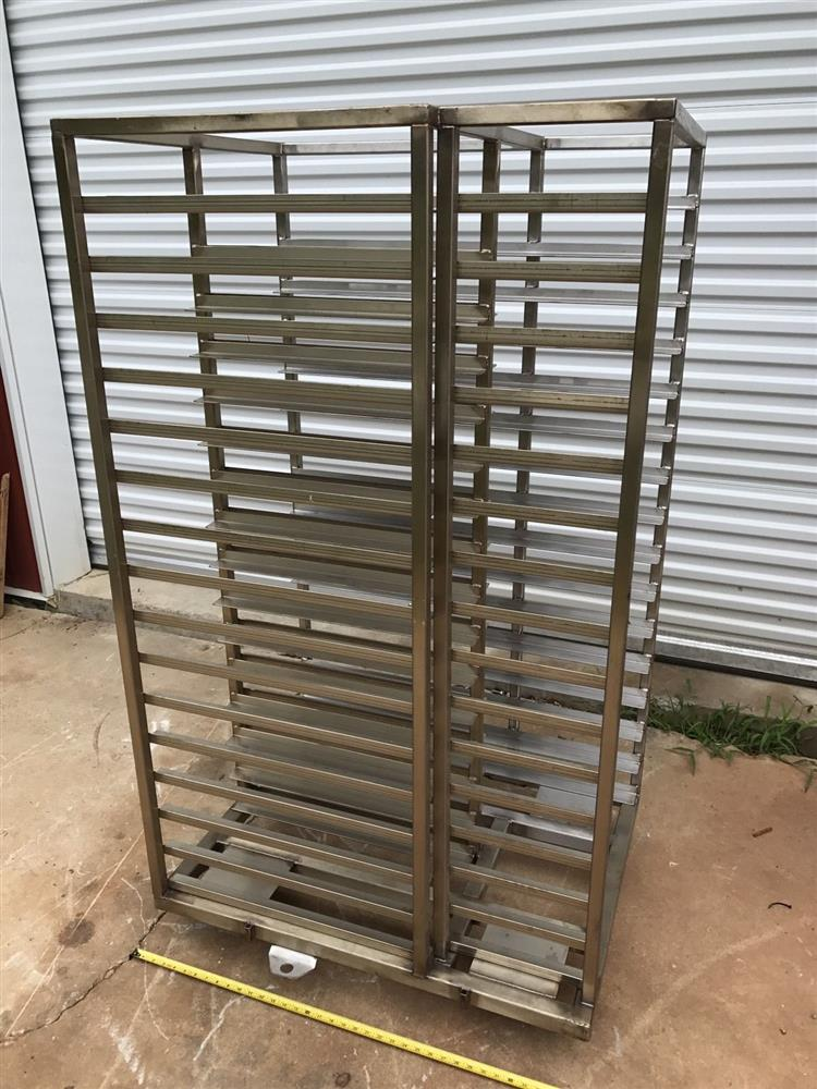 Autoclave Rack and 75 Trays